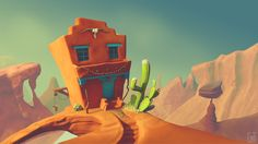 That's where the West begins by Renato Braz | Cartoon | 3D | CGSociety
