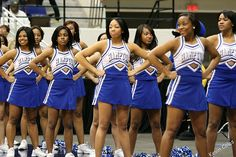Chantelle's cheer team
