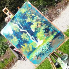 June 2020 Painting Workshop at the Meetings with Rod Coyne - Avoca Studio Gallery Painting Workshop, Happy Paintings, Canvas Paper, Painting Process, Stay The Night, Quality Time, Color Mixing, Scenery, Paisajes