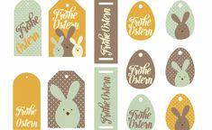 Geschenkanhänger zum ausdrucken Ostern