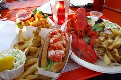 Lobster rolls...can't wait for these, as it is a sign that summer has arrived!