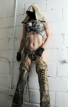 Toxic Vision Wasteland Warrior