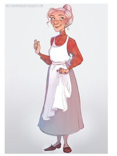 Brittany Myers Art: Old Women Sketch