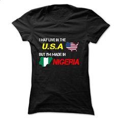 Nigeria-USA - #hoodie upcycle #long sweatshirt. MORE INFO => https://www.sunfrog.com/LifeStyle/Nigeria-USA-Black-8qam-Ladies.html?68278