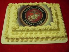 marine corp cake is had ever November it is a Marines second birthday Usmc, Marines, Call Of Duty Cakes, Montezuma, Us Marine Corps, Semper Fi, Awesome Cakes, Pastry Chef, Cake Ideas