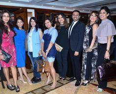 Nisha JamVwal, Dipika Gehani, Azmina Rahimtullah, Devita Saraf, Kunika Singh, Nitish Shah, Amrita Raichand and Maheka Mirpuri at the I Am Woman event