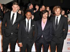 Oh No They Didn't! - The boys of Merlin at the British National Television Awards