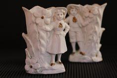 Porcelana biscuit, fin del XIX // ¡ME ENCANTA!