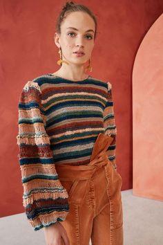 Knitwear Fashion, Knit Fashion, Womens Fashion, Yohji Yamamoto, Pullover Sweaters, Men Sweater, Stephane Rolland, Ulla Johnson, Pretty Outfits