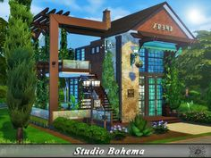 The Sims Resource: Studio Bohema by Danuta720 • Sims 4 Downloads