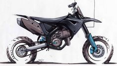 Husaberg sketches – from the archive « Design « DERESTRICTED