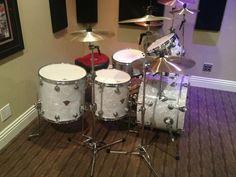 DW Classics Series Drum Set 5 Piece Classic White Marine Pearl   eBay