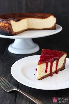 How to Make Perfect New York Cheesecake - step by step guide with video