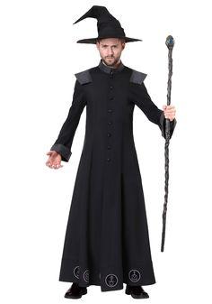 Men's Warlock Costume - FOREVER HALLOWEEN Beard Halloween Costumes, Mens Halloween Makeup, Witch Costumes, Halloween Men, Easy Costumes, Costume Ideas, Halloween 2019, Sorceress Costume, Carnival