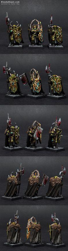 Nurgle Warriors of Chaos