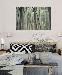 3D Simple Foggy Forest 8 Wall Stickers Vinyl Wall Murals Print Ajstore Us Lemon