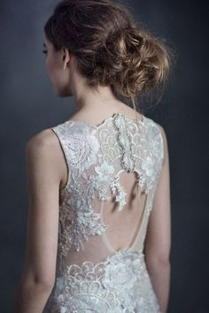 Claire Pettibone 'Eden' wedding dress, #GothicAngel Collection Photos: Emily Soto