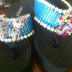 Just change straps and/or jewels for a new pair of shoes.  817.851.4336  email:  ballred@wastenetinc.com Barbara Darley Allred on Pinterest