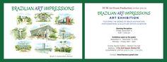 HXM Art Event Production : Exposição Brazilian Art Impressions no Boston City Hall