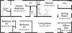 Montgomery Floorplan of Classic Collection - Modular Home - All American Homes