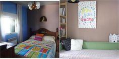 Antes y después de un dormitorio pequeño… ¡DIY!