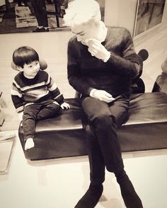 top and his nephew
