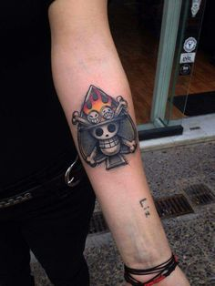 One Piece, Portgas D Ace jolly roger