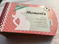 6c0dd51b04 Pregnancy Journal Scrapbook - Save those beautiful memories of being  pregnant in a personalized Pregnancy Scrapbook Journal.