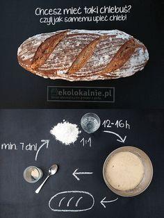 Uniwersalny sposób na pieczenie własnego chlebka i bułek. Wiesz ile chemii jest pakowanej do pieczywa ze sklepu? Dbaj o swoje zdrowie! Udostępnij znajomym! http://ekolokalnie.pl