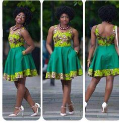 short african dresses designs 2016 2017 - style you 7 Short African Dresses, African Print Dresses, African Fashion Dresses, Ankara Fashion, African Prints, Short Gowns, Ghanaian Fashion, African Inspired Fashion, African Print Fashion