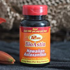 Super Strength 12MG BioAstin® Hawaiian Astaxanthin
