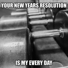 Never understood the rush at gyms after new years then they all disappear after the first month....just make it your everyday ppl cmon.