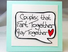 I love that this is a magnet and a card!!! Funny Valentines Day Card for Couples. Cute Fart by katndrewcards, $3.25. But I don't think is funny.  He will!