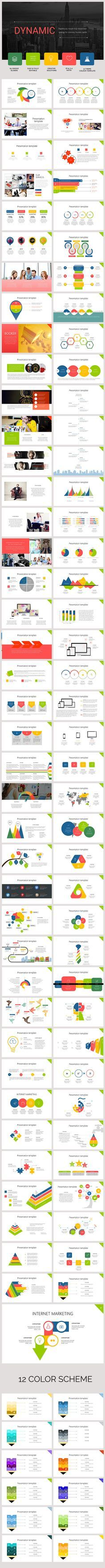 Dinamic PowerPoint Template #powerpoint #powerpointtemplate #presentation Download: http://graphicriver.net/item/dinamic-powerpoint-template/11937988?ref=ksioks