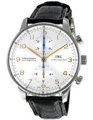 IWC Portuguese Men's Chronograph Automatic Watch - 3714-45