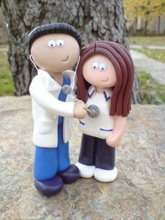 Everything is doctor and mrs. or doctor and nurse. We need two docs!