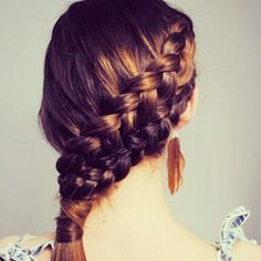 double side french braid
