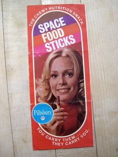 Allee Willis Blog » Blog Archive » Allee Willis' Kitsch O' The Day – 1970 Space Food Sticks