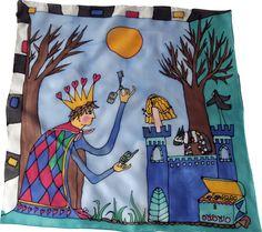 Šatka -obrázok do detskej izby na zarámovanie Silk Painting, Diaper Bag, Bags, Handbags, Diaper Bags, Mothers Bag, Bag, Totes, Hand Bags