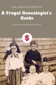 Free Genealogy Records - A Guide To Frugal Genealogy Research A list of free genealogy records to search for your ancestors. Yes, you can be frugal and save money while researching your family history. Free Genealogy Records, Genealogy Websites, Genealogy Research, Family Genealogy, Free Ancestry Sites, Find My Ancestors, Genealogy Organization, Family Research, Family Roots
