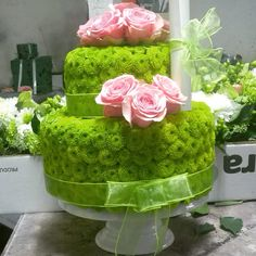 Deco Floral, Floral Foam, Floral Cake, Arte Floral, Floral Design, Birthday Cake With Flowers, Flower Cupcakes, Cake Centerpieces, Fresh Flower Cake