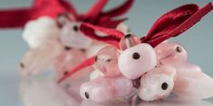 Roztomilé náušnice Diy Jewelry, Flora, Traditional, Christmas Ornaments, Beads, Holiday Decor, Earrings, Projects, Crafts