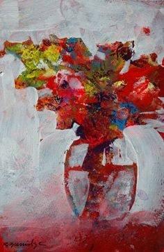 Floral Study 116 So alive, ecstatic! Abstract Art Painting, Flower Painting, Art Painting, Floral Art, Abstract Painting, Easy Flower Painting, Flower Painting Canvas, Abstract, Abstract Expressionism Painting