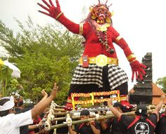 ogoh-ogoh parade, Bali
