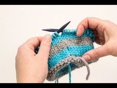 How to Knit Jogless Stripes - YouTube