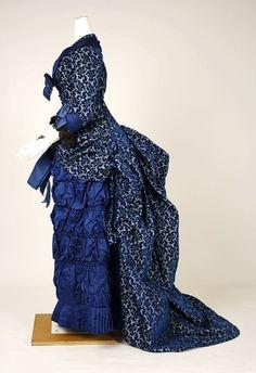 Dinner dress: 1880-1882 by pandora's box