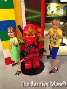 Checking out LEGOLAND Discovery Center - a great day for kids and parents!  #Lego