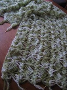Charmed Prayer Shawl Crochet Pattern