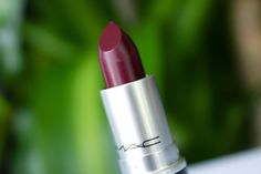 Amarixe: MAC Lipstick in Dark Side: Review + Swatches! #LULUSHOLIDAY