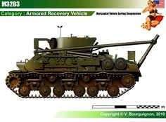 M32B3 Armored Recovery Vehicle